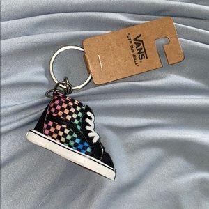 Vans skateboarding keychain new